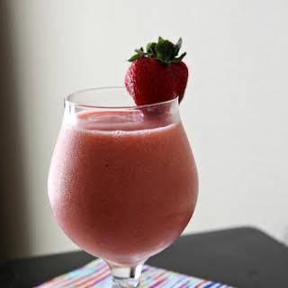 Strawberry Orange Sunrise Smoothie.