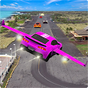 Flying Car Rescue Game 3D: Flying Simulator icon