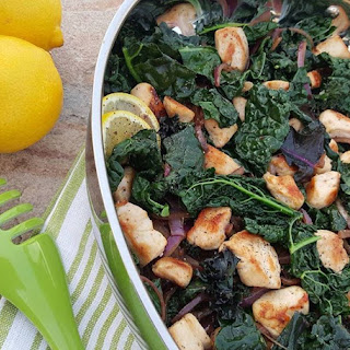 Lemon Pepper Chicken & Kale Stir Fry