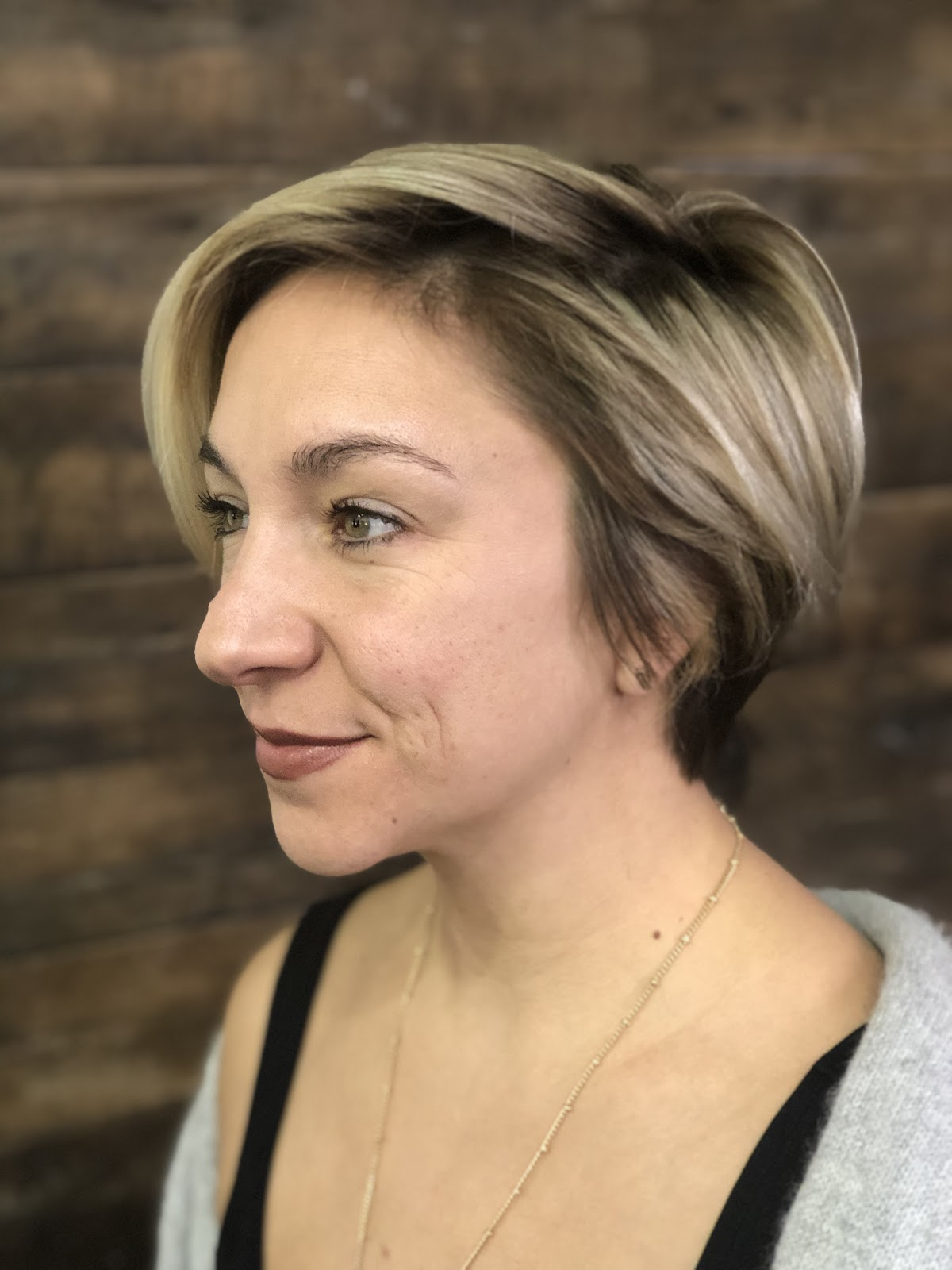 Highlights on Short Hair
