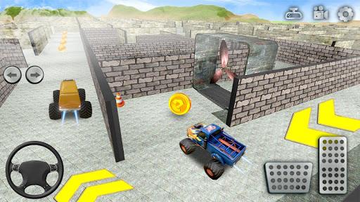 Code Triche jouet un camion Labyrinthe conduite 2020: camion mod apk screenshots 2