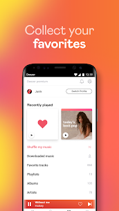 Deezer Music Player Mod Apk : Songs, Playlists & Podcasts 7