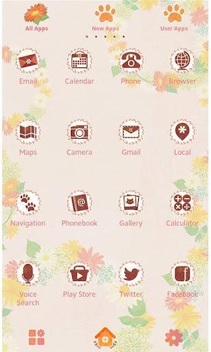 Cute Wallpaper-Cat in Flowers- 1.0.0 Windows u7528 2