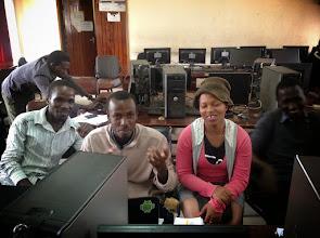 Photo: Developers @ Mbarara University having a nice moment