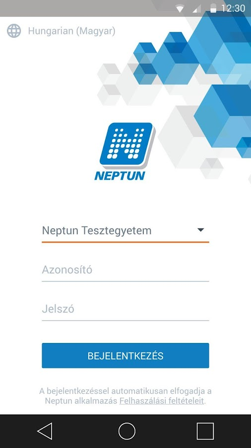 Neptun- screenshot