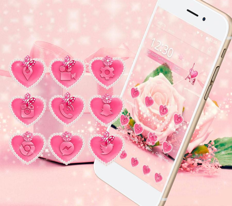 home pink rose theme -#main