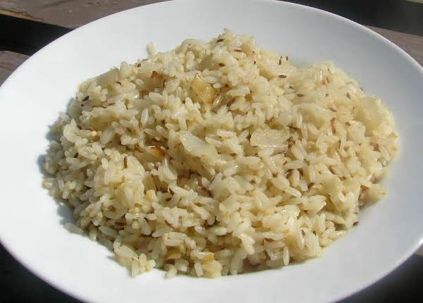 Cumin-scented White Rice Recipe