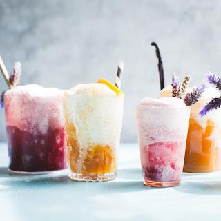 Vanilla Rooibos Peach Ice Cream Floats {vegan} + Minneapolis.