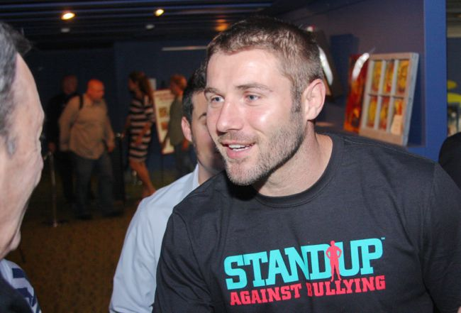 Photo: Retired rugby star Ben Cohen, who launched the Atlanta-based StandUp Foundation, joined a screening of 'Legalize Gay' on June 11 at Midtown Art Cinema. View the full photo album: http://projectqatlanta.com/news_articles/view/ben_cohen_dishes_delights_atlanta_crowd_photos?gid=11235