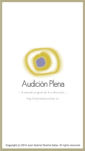 Audición Plena de Obra Musical