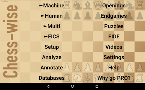 Chess-wise — play online chess- screenshot thumbnail