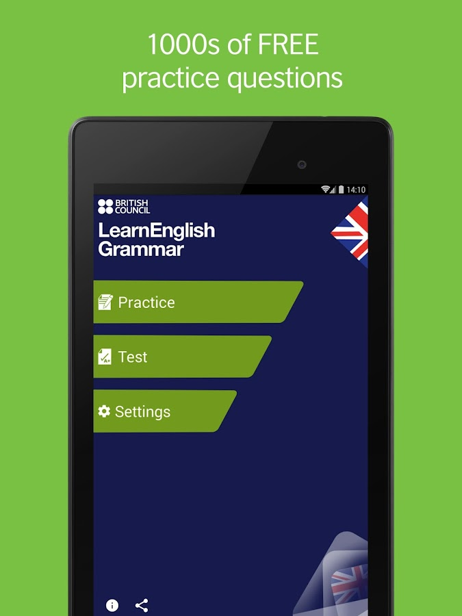 LearnEnglish Grammar (UK edition)- screenshot