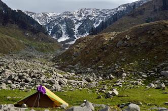 Photo: Daled Camp from where we climb up to kareri Lake