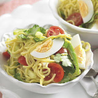 Curried Noodle and Egg Salad