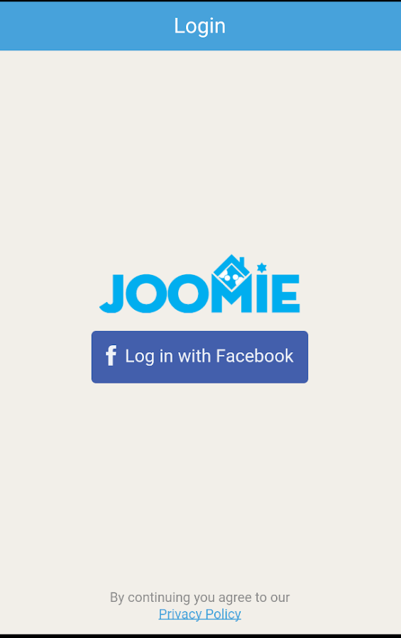Joomie- screenshot