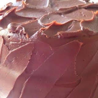 Chocolate Fudge Cake.