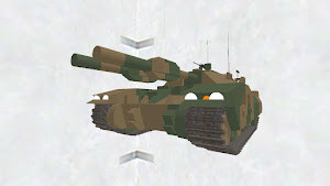 61式戦車5型(陸上自衛隊風塗装)
