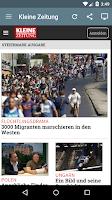 Screenshot of Österreich Zeitung