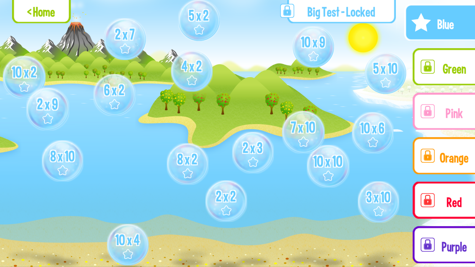 Squeebles Flip Multiplication- screenshot