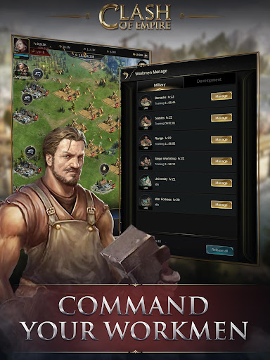 Clash of Empire: Epic Strategy War Game android2mod screenshots 14