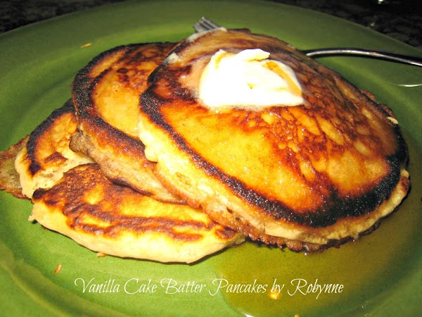 Vanilla Cake Batter Pancakes~robynne Recipe