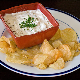 French Onion Dip -- Homemade in the Crockpot