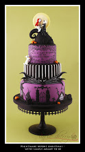 Photo: Nightmare Before Christmas Wedding Cake by T-Cakes (2/27/2012) View cake details here: http://cakesdecor.com/cakes/10312
