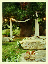 Photo: Ceremony under the old oak tree