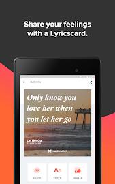 Musixmatch -  Lyrics & Music Screenshot 13