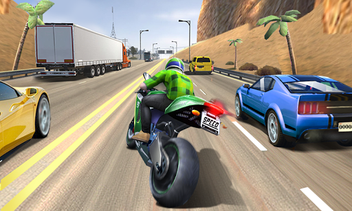 Moto Racing 3D  captures d'écran 3