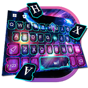 App Galaxy Neon Rocket Keyboard Theme APK for Windows Phone