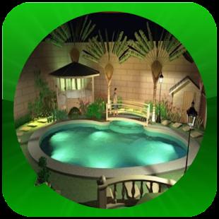 Myšlenka bazénu doma - náhled