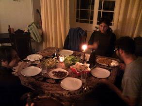 Photo: Star House family dinner