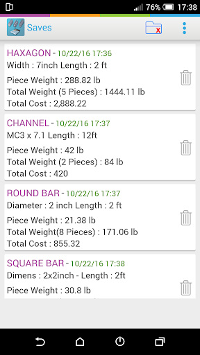 Metal calculator download