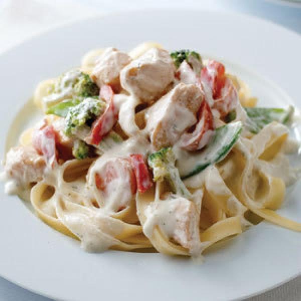 Chicken Primavera With Pasta Recipe