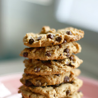 Peanut Butter Chocolate Chip Cookies - Vegan and Gluten Free.