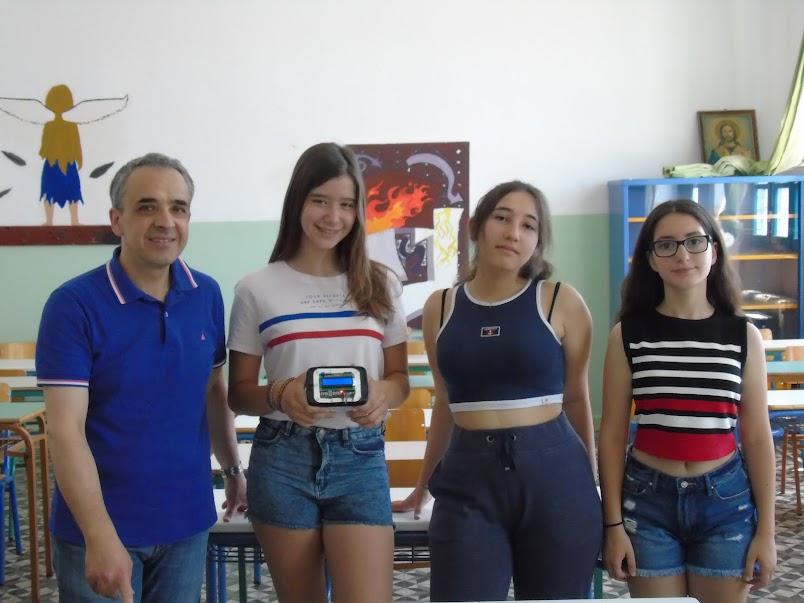 Η ομάδα με τον καθηγητή