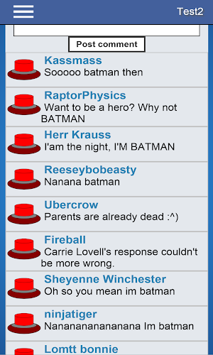 2 Will You Press The Button? App screenshot