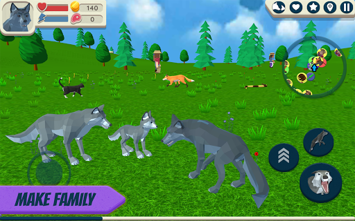 Wolf Simulator: Wild Animals 3D 1.047 screenshots 3