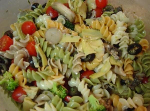 Marinated Pasta Salad Recipe