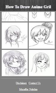 Jak kreslit anime grilu - náhled