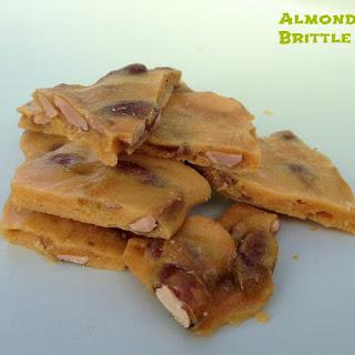 Amazing Easy Almond Brittle.
