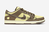 undefeated x nike dunk low canten/lmnfst