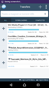 FrostWire - Torrent Downloader- screenshot thumbnail