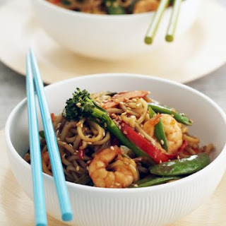 Shrimp and Veggie Stir-fry