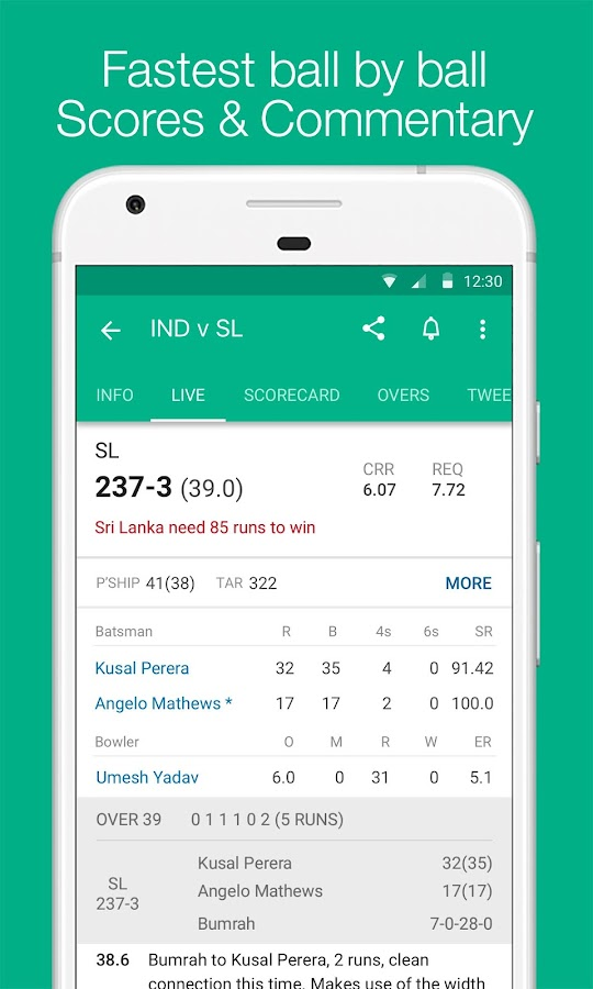 Cricbuzz - Live Cricket Scores & News- screenshot