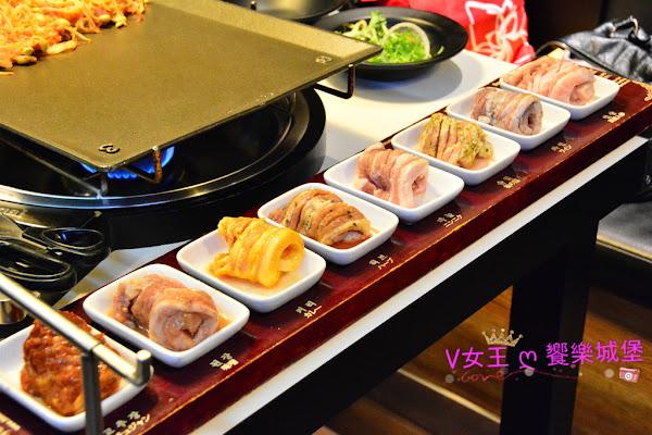 東區美食 II 韓國第一品牌 八色烤肉 ~ 一次滿足你八種口味的燒肉 (人蔘、紅酒、松葉、大蒜、花草、咖哩、大醬、辣椒醬),你喜歡那種口味呢?