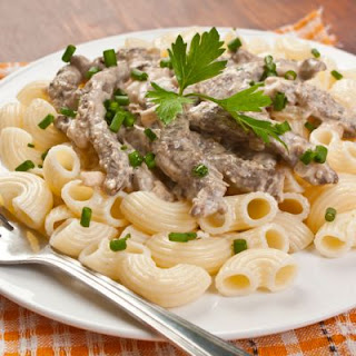Crock Pot Beef Stroganoff With Ground Beef Recipes.