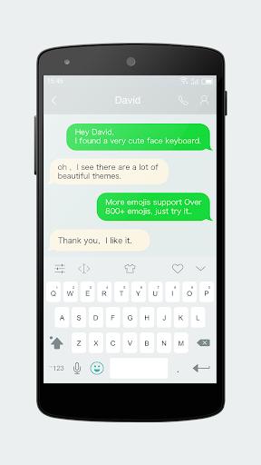 Emoji Keyboard 7 - Cute Sticker, GIF, Emoticons 7.93 screenshots 3