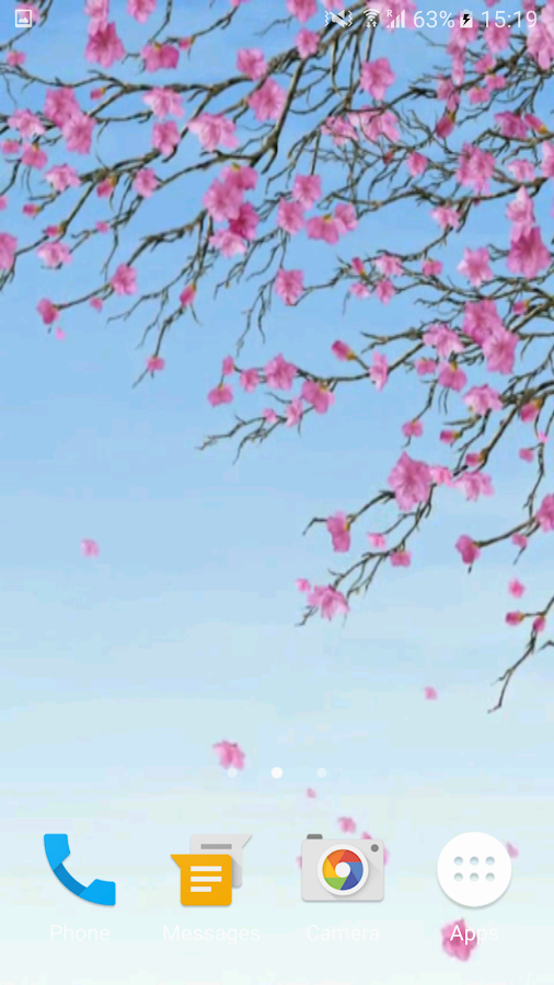 Sakura Video Wallpaper 3D- screenshot
